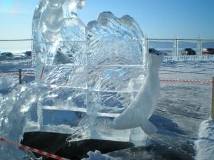 Ледяной городок-нерпа
