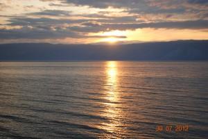 Вечерний Байкал