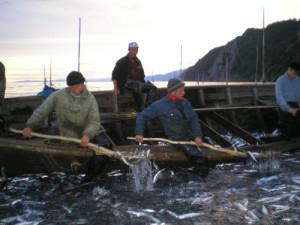 Черпание улова