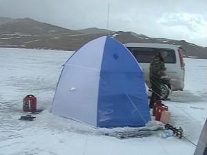 Палатка соседей