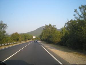 Прекрасные Крымские дороги