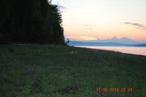 Закат на Ангаре