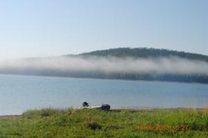 Туман почти рассеялся