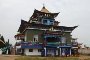 Главный храм, вид сбоку