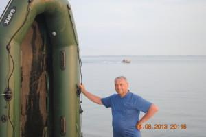 Сушка лодки