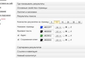 Поиск Яндекс 6