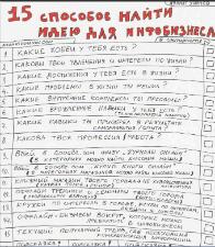 15 идей инфобизнеса