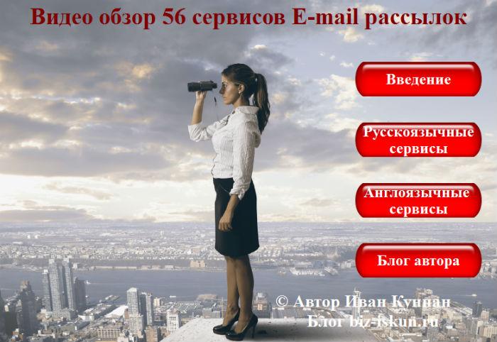 Платные и бесплатные сервисы Email рассылок