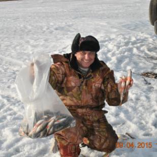 Зимняя рыбалка на Ангаре