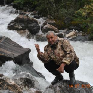 Шумак, горная река