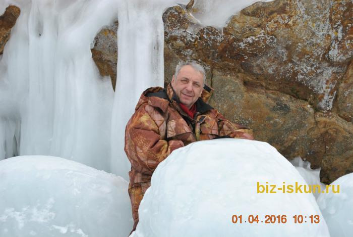 Подлёдная рыбалка на Байкале 8
