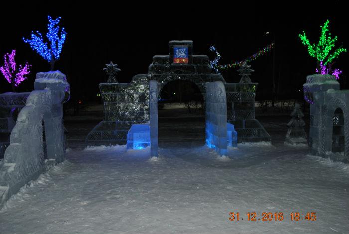 Главные ворота городской ёлки