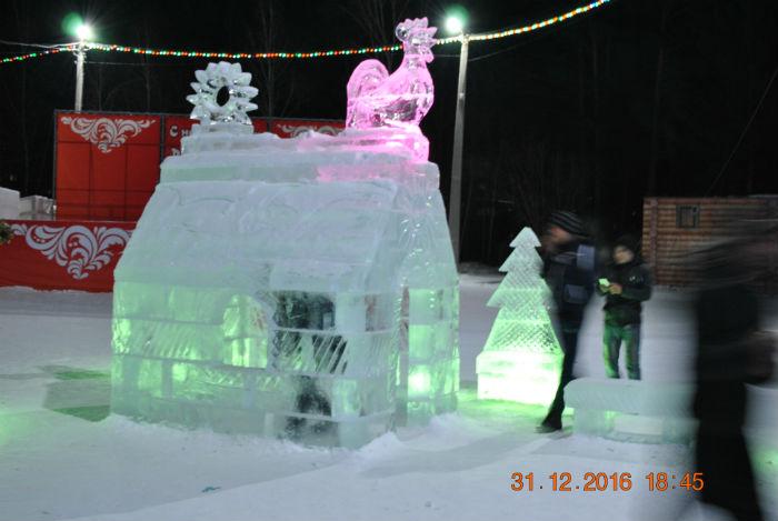 Ледяной домик Петуха