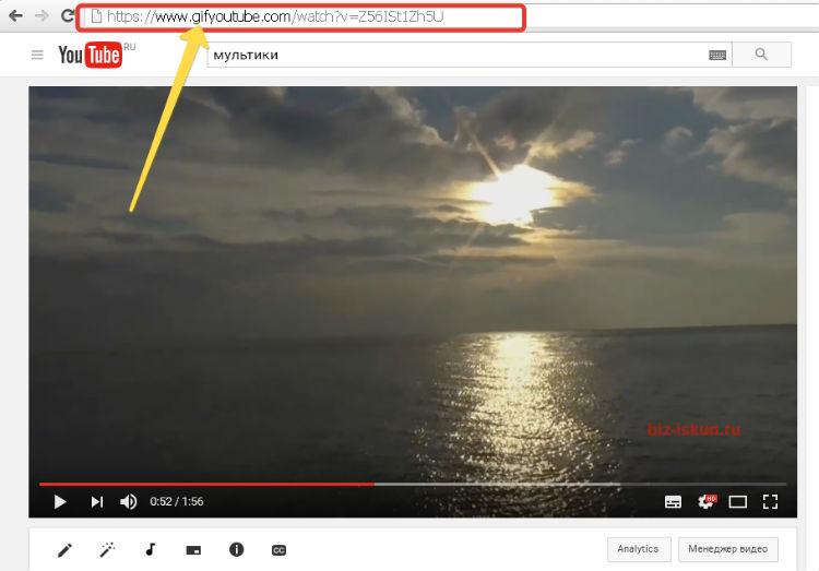 Gif из видео онлайн