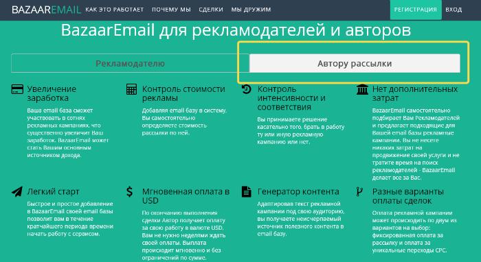 Email рассылка сервис