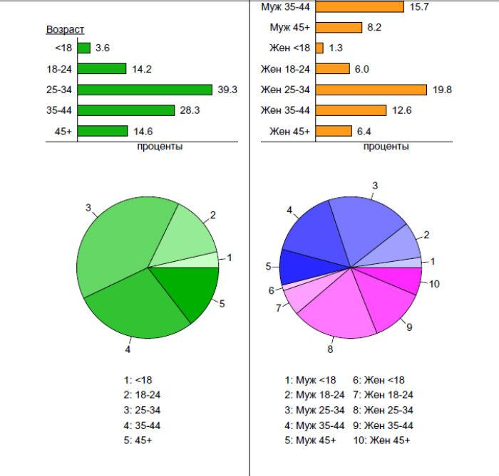 Анализ сайта от Liveinternet