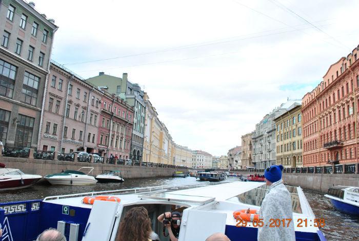Каналы и реки Питера