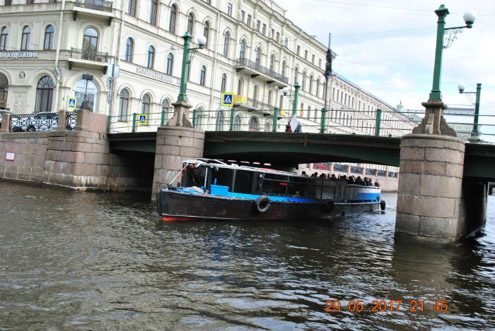 Экскурсия по каналам и рекам Санкт-Петербурга