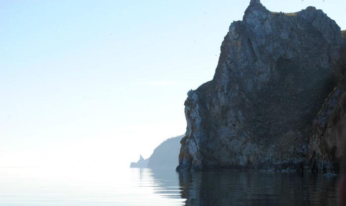 Мыс Хобой на Байкале
