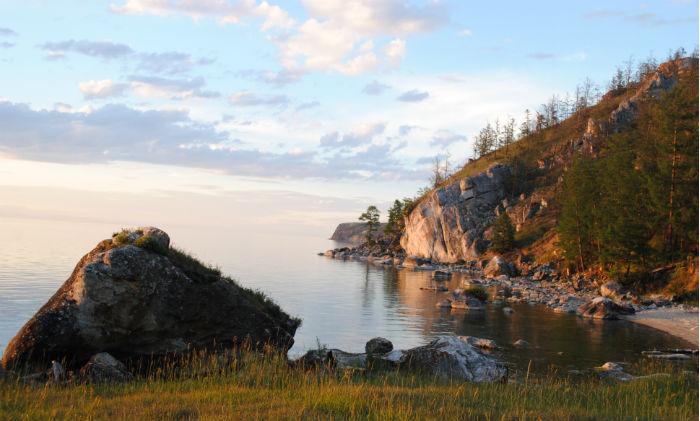 Протяженность острова Ольхон