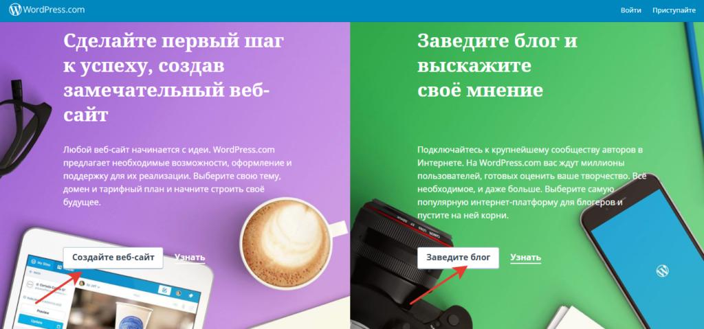 Платформа для создания сайтов