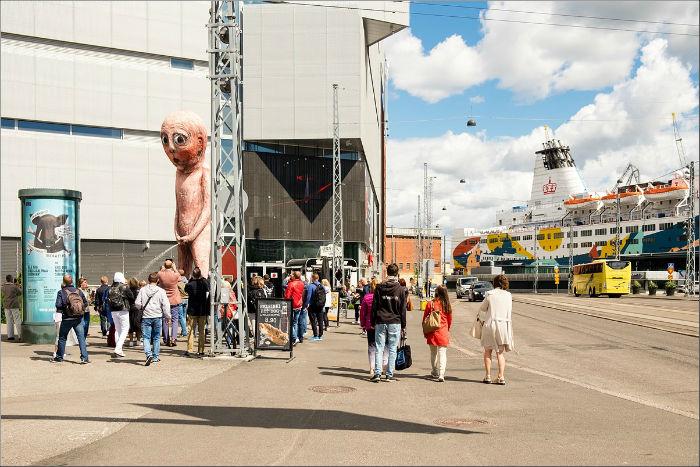 Хельсинки, морской порт
