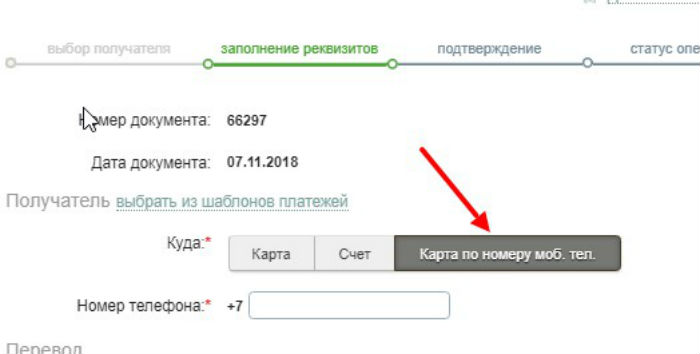 Перевод с карты на карту Сбербанка по смс на номер 900