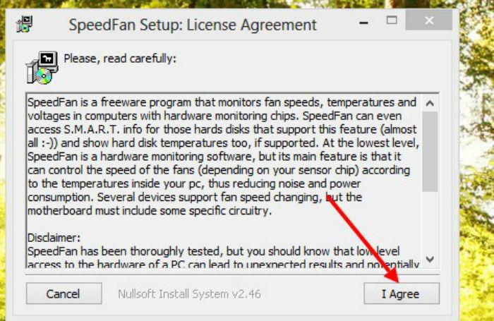 как охладить ноутбук с помощью программы