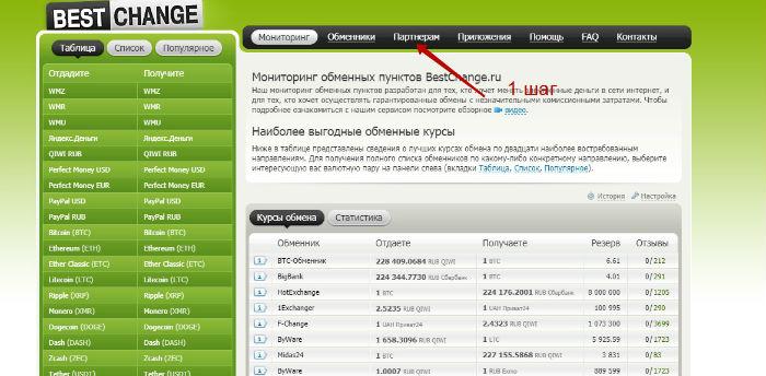 заработок на обменниках валют в интернете
