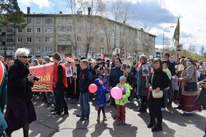 день победы в Саянске