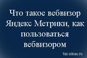 Что такое Вебвизор Яндекс Метрики, как пользоваться вебвизором